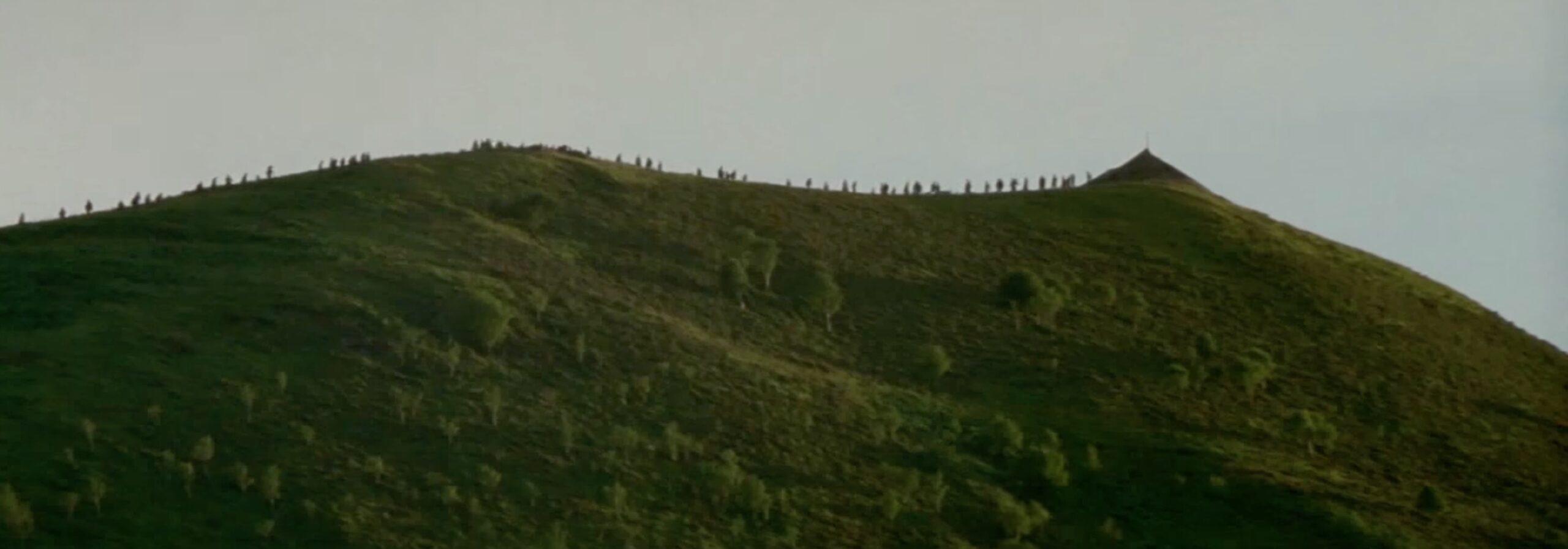ウェールズの山